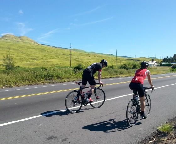 Hawaï à vélo Sur La Route