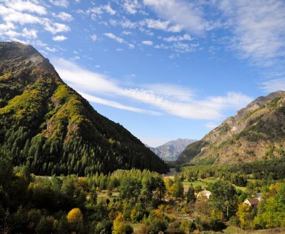 Voyage vélo route traversée alpes françaises