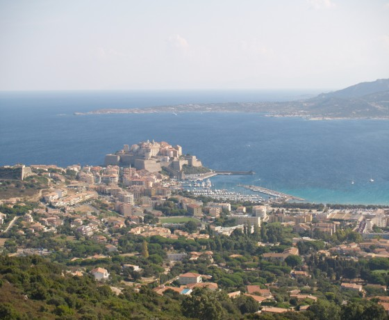 Voyage vélo route Corse