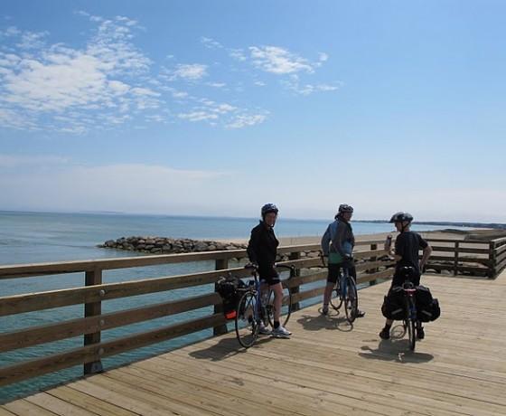 Voyage vélo route Cape Cod Martha's Vineyard
