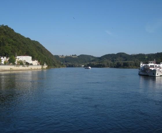 Vélo bateau danube allemagne autriche slovaquie hongrie