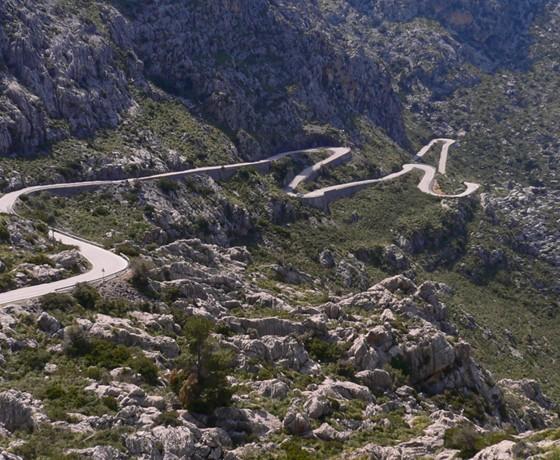 Voyage vélo route majorque espagne baléares