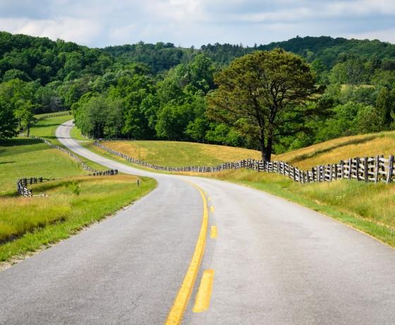 Blue Ridge Parkway - Sur La Route