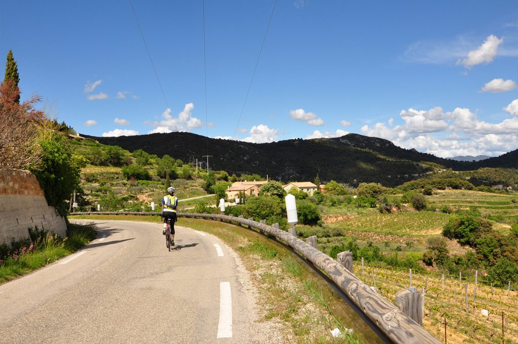 provence à vélo - voyage vélo - ekilib - sur la route