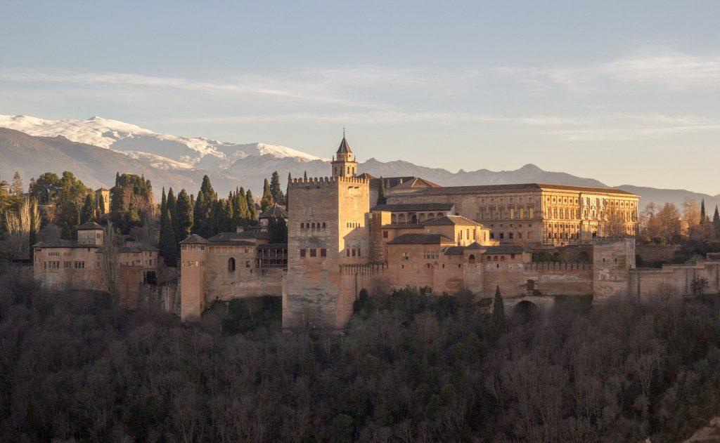 andalousie à vélo - cyclotourisme andalousie - cyclotourisme espagne -alhambra - grenade