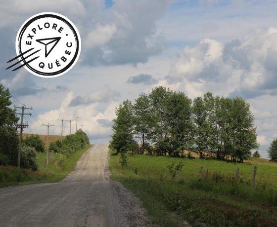 gravel bike - yvan martineau - gravel bike avec yvan martineau - vélo de gravier - voyage vélo - cyclotourisme - Ekilib