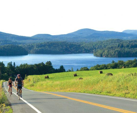 cantons de l'est - vélo - cyclotourisme - voyages vélo organisés - ekilib - le monde à vélo