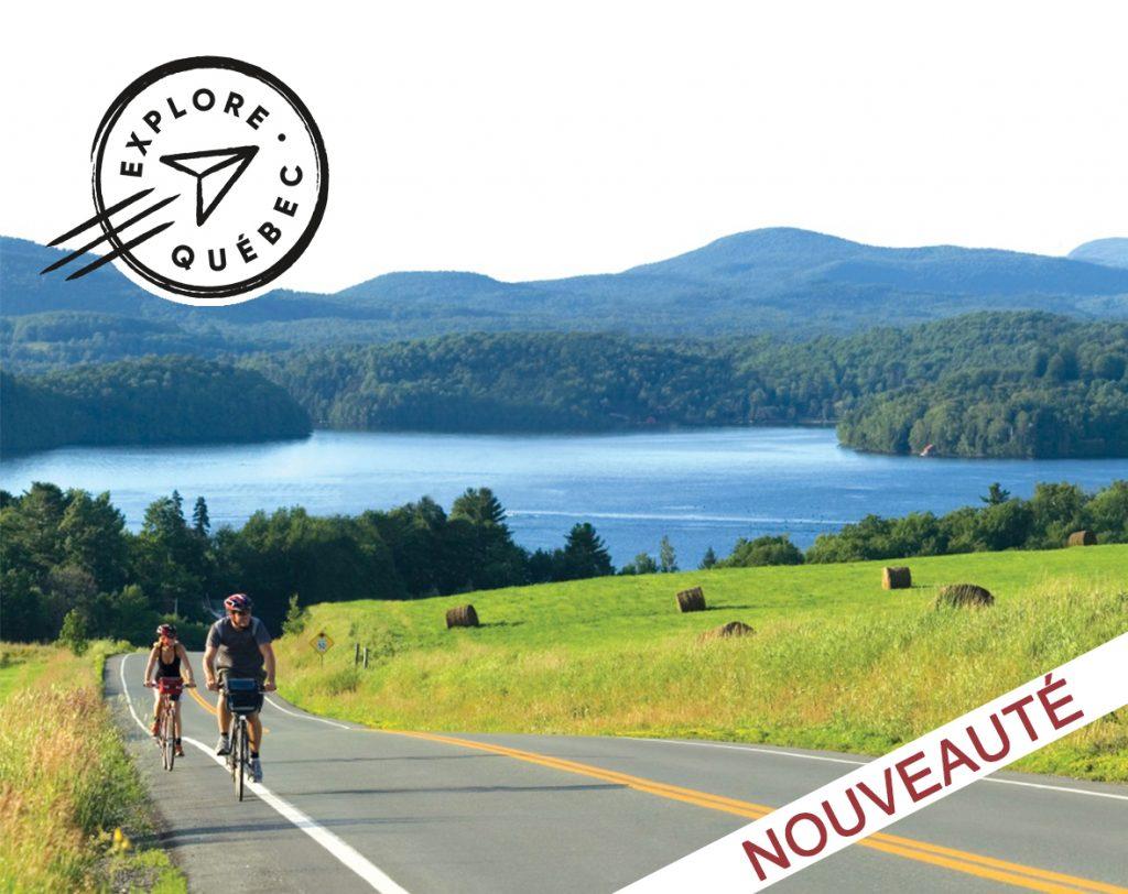 traversée cantons de l'est - vélo québec - vélo - cyclotourisme - voyages vélo organisés - ekilib - le monde à vélo