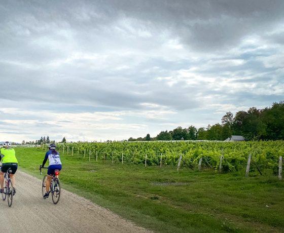 Cantons-de-l'Est en vélo de gravier - voyage à vélo - gravel bike - ekilib
