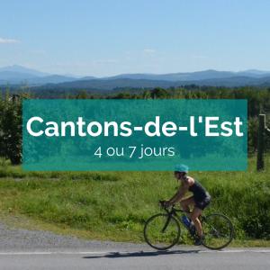 Cantons de l'est à vélo en liberté - Ekilib - cyclotourisme